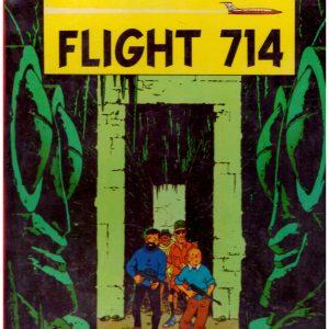 THE ADVENTURES OF TINTIN FLIGHT 714