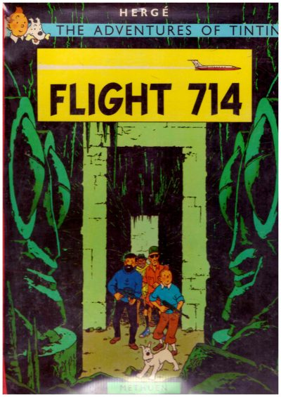 THE ADVENTURES OF TINTIN FLIGHT 714