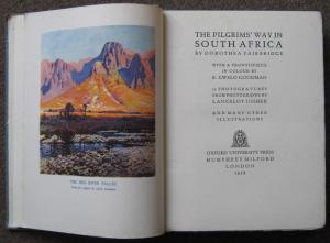 THE PILGRIM'S WAY IN SOUTH AFRICA