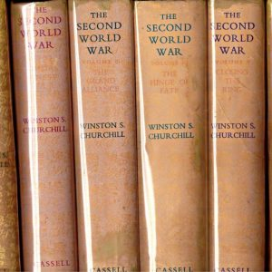 THE SECOND WORLD WAR. Six Volumes