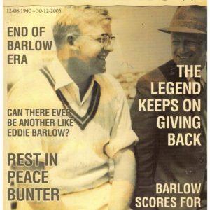 A Tribute to Eddie Barlow