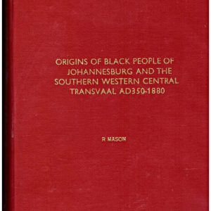 Origins of the Black People of JHb