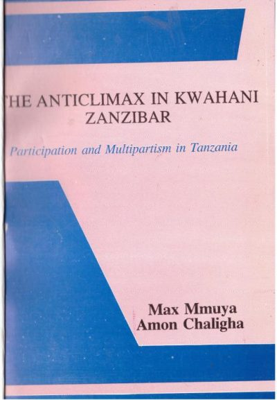 The Anticlimax in Kwahani Zanzibar