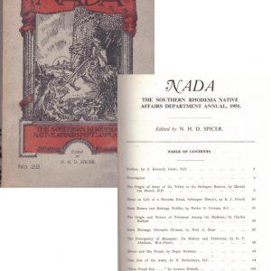 Nada No 28 1951