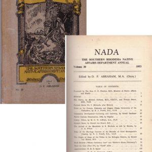 Nada No 30 1953