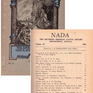 Nada No 35 1958