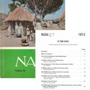 Nada XI No1 1974