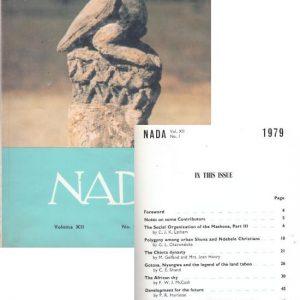 Nada XII No1 1979