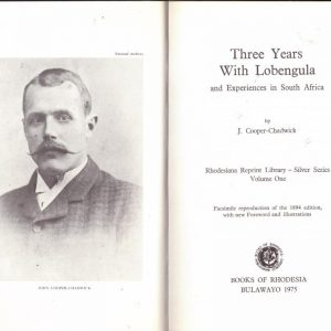 Three Years with Lobengula