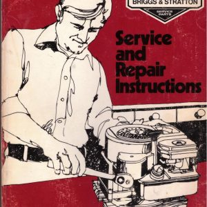 Briggs & Stratton Sevice and Repair Instructions