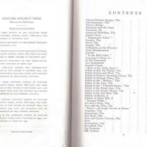 Rudyard Kiplings Verse, the Definitive Editon