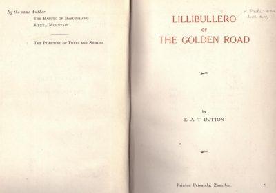 Lillibullero or the Golden Road